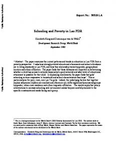World Bank Document - World Bank Group