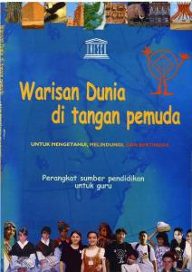 World Heritage in Young Hands Kit (indonesian) - UNESCO World ...