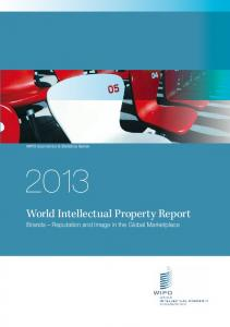 World Intellectual Property Report - WIPO