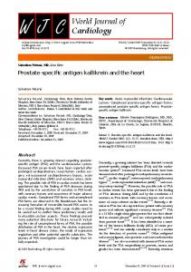 World Journal of Cardiology - PubMed Central Canada