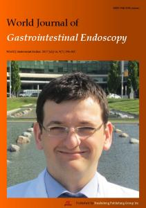 World Journal of Gastrointestinal Endoscopy