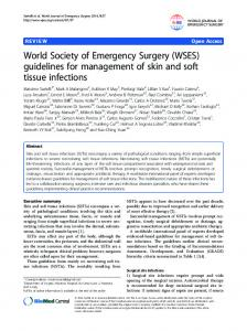 World Society of Emergency Surgery (WSES ... - IRIS Unimore