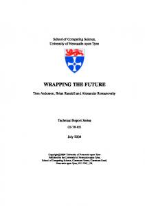 wrapping the future - Semantic Scholar