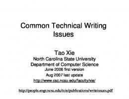 writeissues.ppt [Compatibility Mode] - CiteSeerX