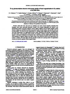 X-ray photoemission electron microscopy studies of local ...