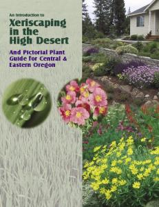 Xeriscaping in the High Desert - Oregon State University Extension ...
