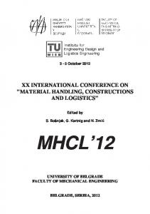 xx international conference on