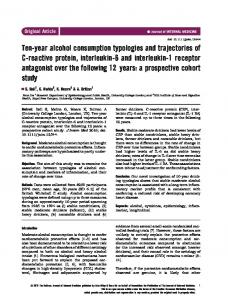 year alcohol consumption typologies and ... - Wiley Online Library