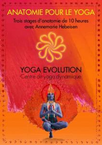 YOGA EVOLUTION ANATOMIE POUR LE YOGA