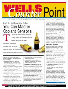 You Can Master Coolant Sensors