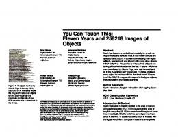 You Can Touch This