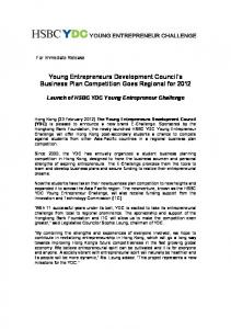 Young Entrepreneurs Development Council's Business Plan ...