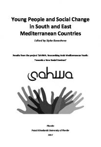 Young People and Social Change in South and East