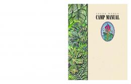 Young Women Camp Manual