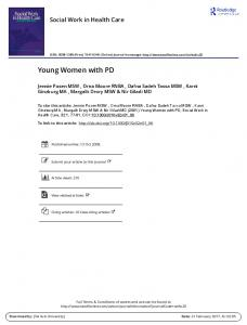 Young Women with PD