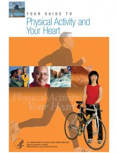 Your Guide to Physical Activity and Your Heart (PDF - National Heart ...