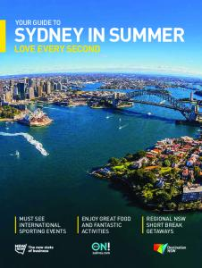 Your Guide to Sydney in Summer