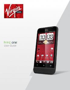 Your HTC One V