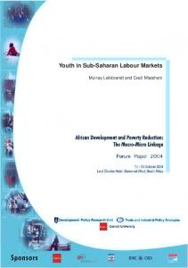 Youth in Sub-Saharan Labour Markets - TIPS