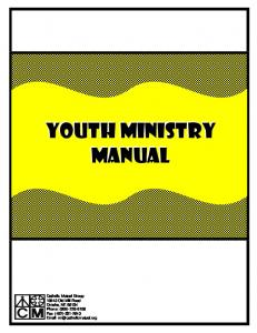 Youth Ministry Manual