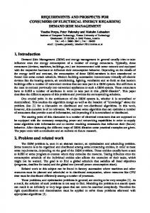ypppml_Requirements and Prospects for Consumers of ... - CiteSeerX