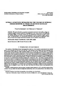 Yves Capdeboscq and Michael S. Vogelius 1. Introduction ... - Numdam