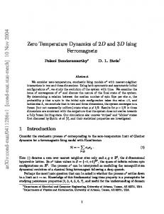 Zero Temperature Dynamics of 2D and 3D Ising Ferromagnets