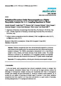 Zirconium Oxide Nanocomposite as a