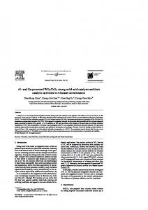 ZrO2 strong solid acid catalysts and their